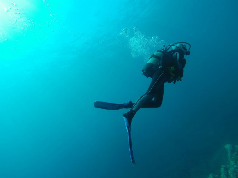 Scuba Diving Deep Stops - Image Source: www.Pixabay.com