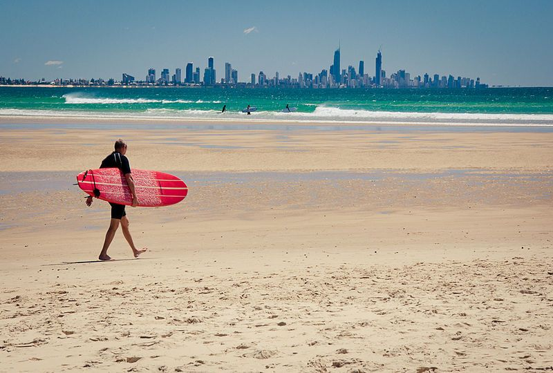 Gold Coast Currumbin Beach Queensland Australia