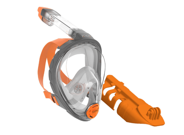 Ocean Reef Aria Full Face Snorkel Mask - Camera Mount