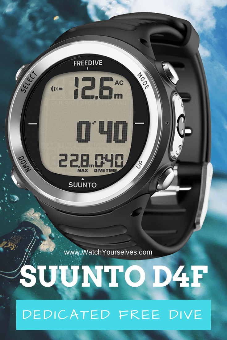 Suunto D4F Dedicated Freediving Computer