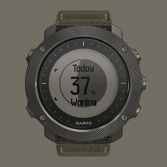 Suunto Traverse Alpha Foliage GPS Watch