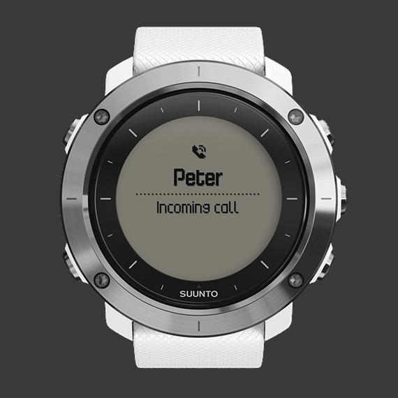 Suunto Traverse GPS Watch White