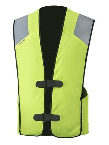 MotoAir Air Bag Vest Hi-Viz