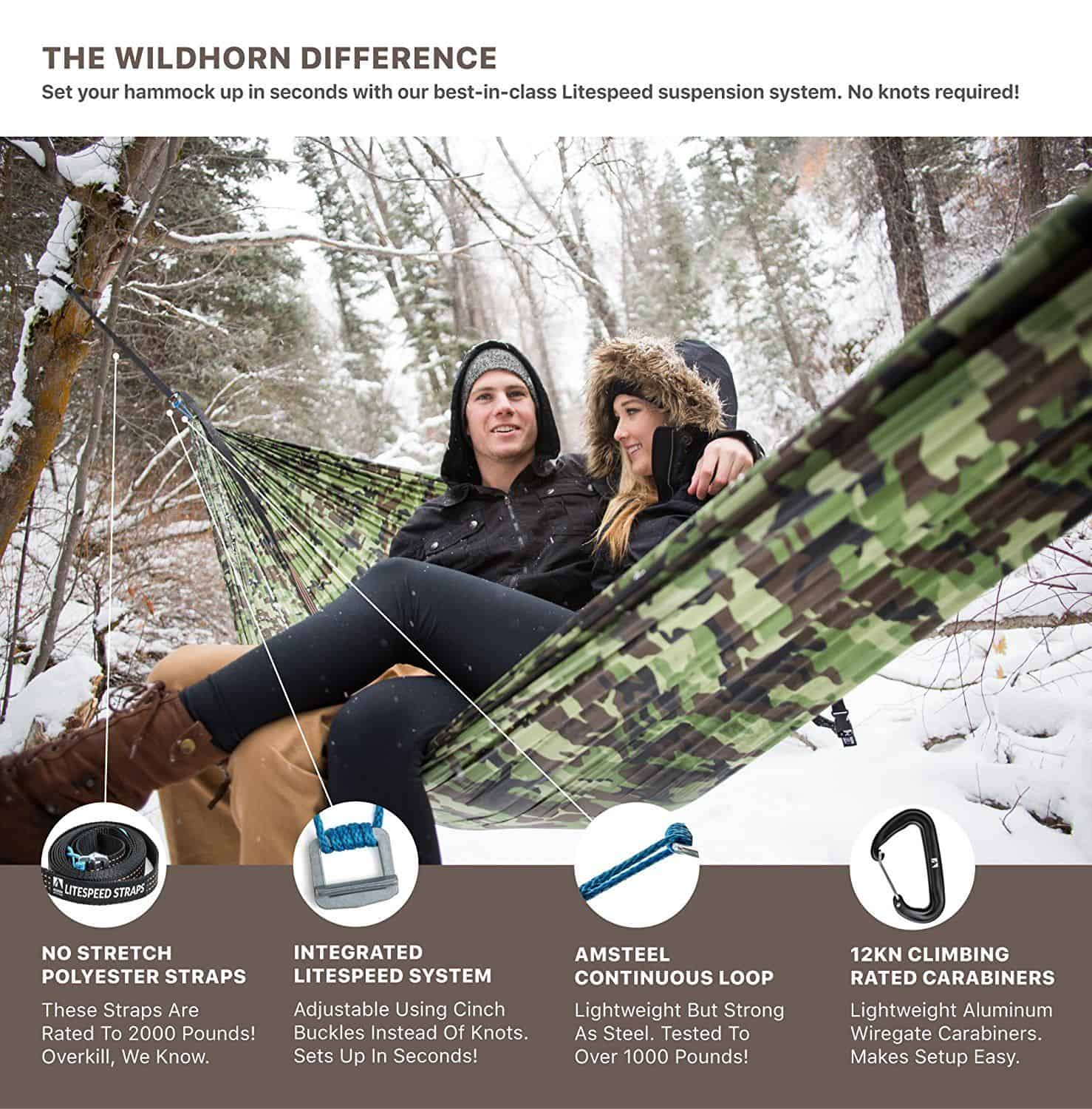 wildhorn outfitters outpost ii hammock double woodland camo best lightweight camping hiking hammock   wildhorn outfitters outpost  rh   watchyourselves