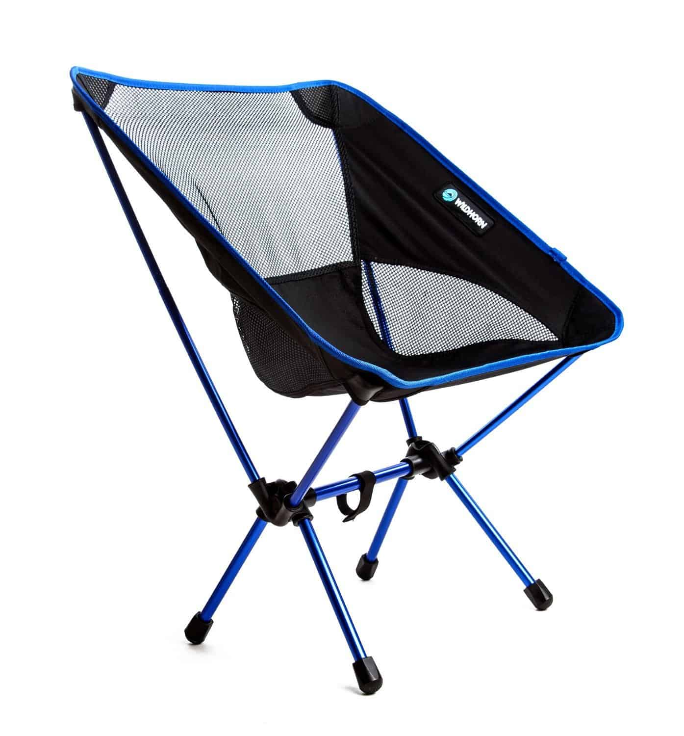 The camping chair with a secret weapon No more sinking in sand & mud
