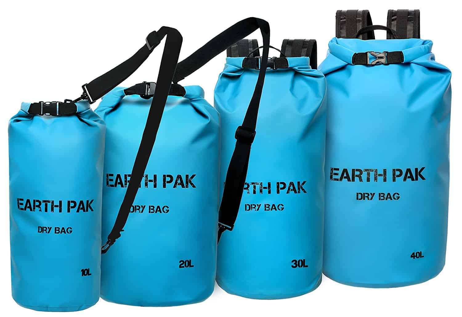 Earth Pak Sizes