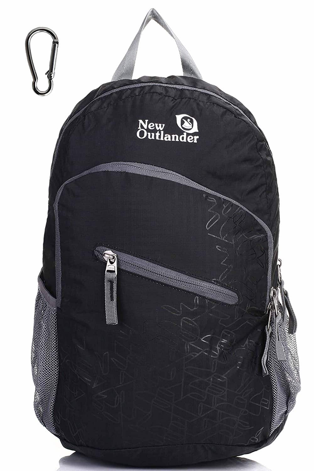 New Outlander 20L/33L Backpack Black