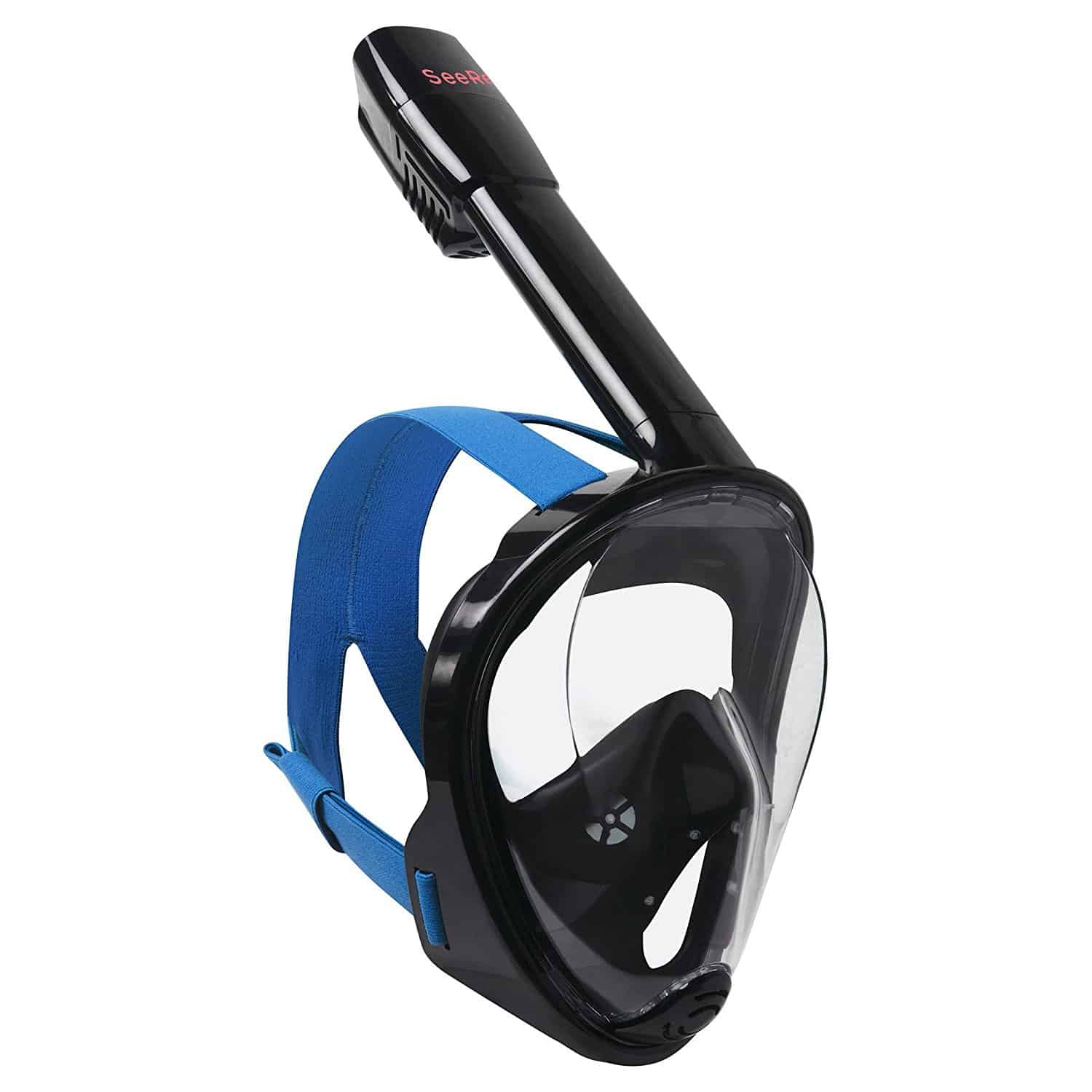 SeeReef Full Face Snorkel Mask Black