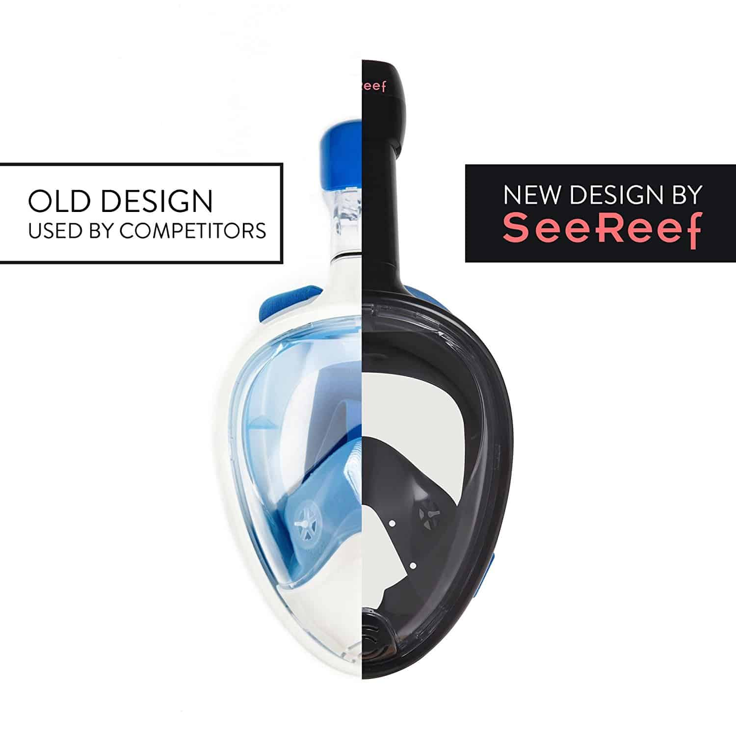 SeeReef Full Face Snorkel Mask Comparison
