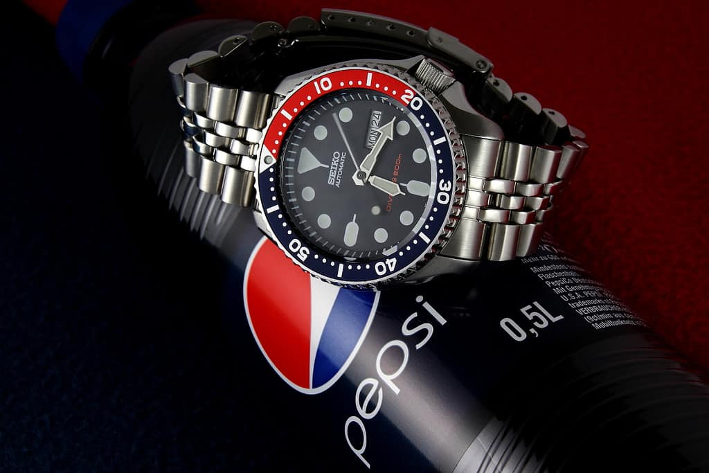 Seiko SKX009 Pepsi Automatic Divers Watch