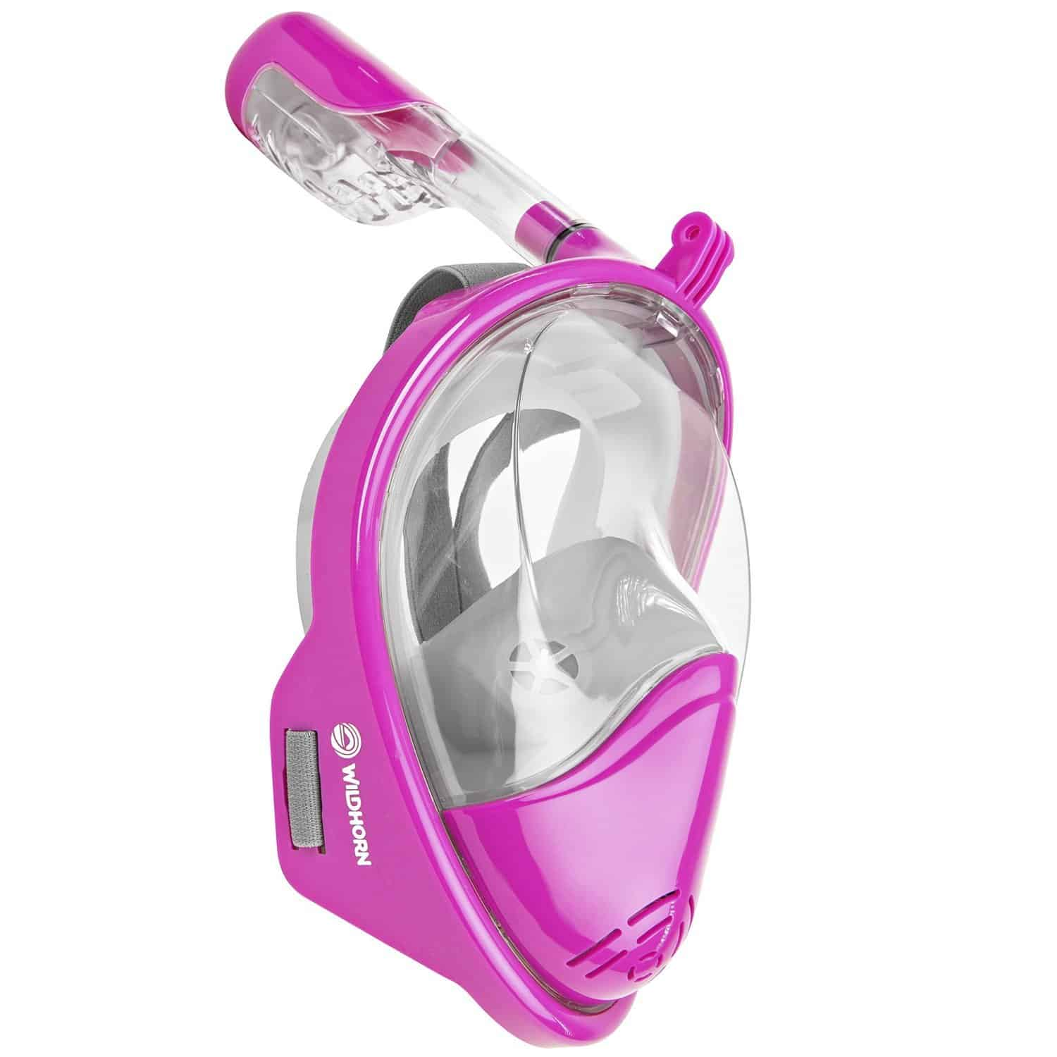 Seaview 180° Panoramic Lotus Full Face Snorkeling Mask