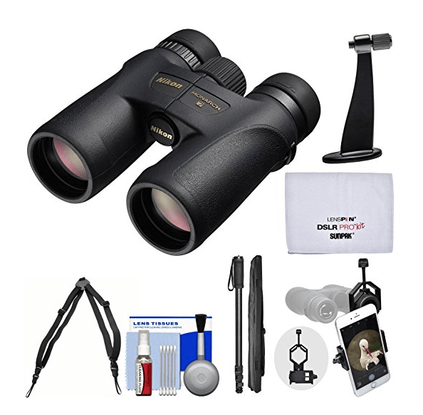Nikon Monarch 7 Waterproof / Fog-Proof Binocular Kit
