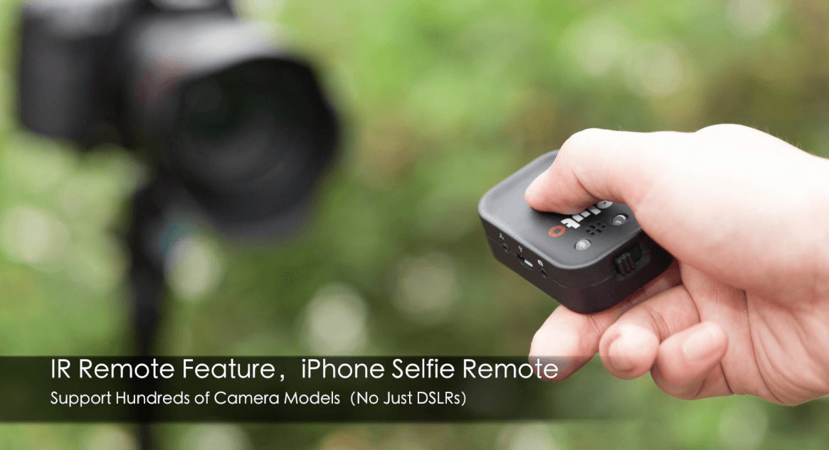 Pluto Trigger Camera Remote IR Remote iPhone Selfie Remote