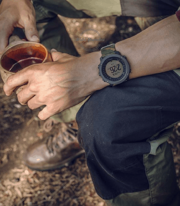 Suunto Traverse Alpha Camoflauge GPS Watch