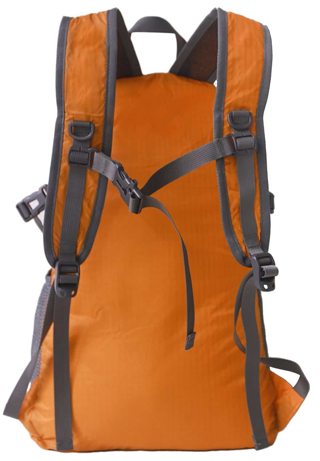 Outlander Packable LIghtweight Travel Hiking Backpack Daypack Orange