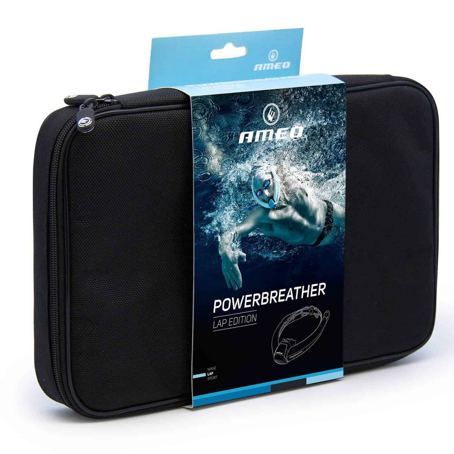 PowerBreather Lap Swimming Snorkel Carry Case
