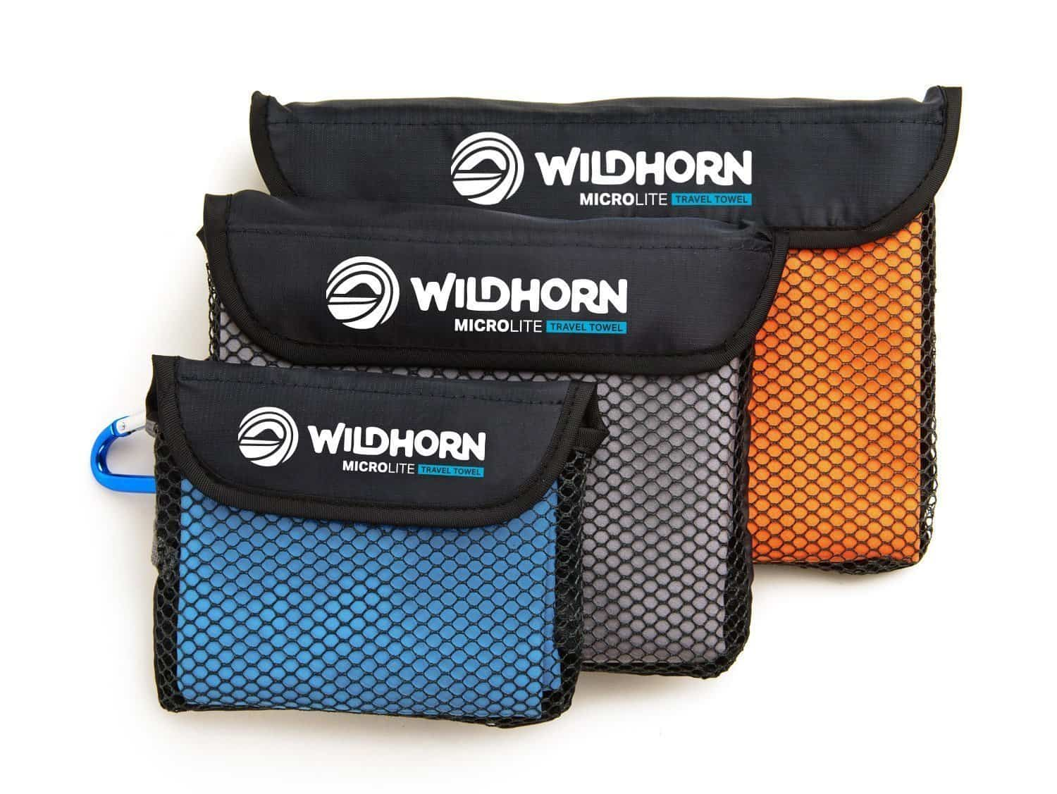 Wildhorn Outfitters Microfiber Travel Towels