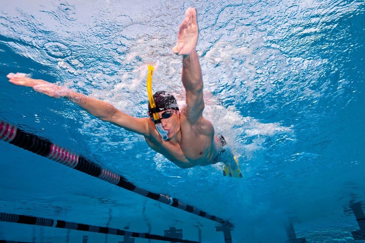 Competition Training Swimming Snorkel