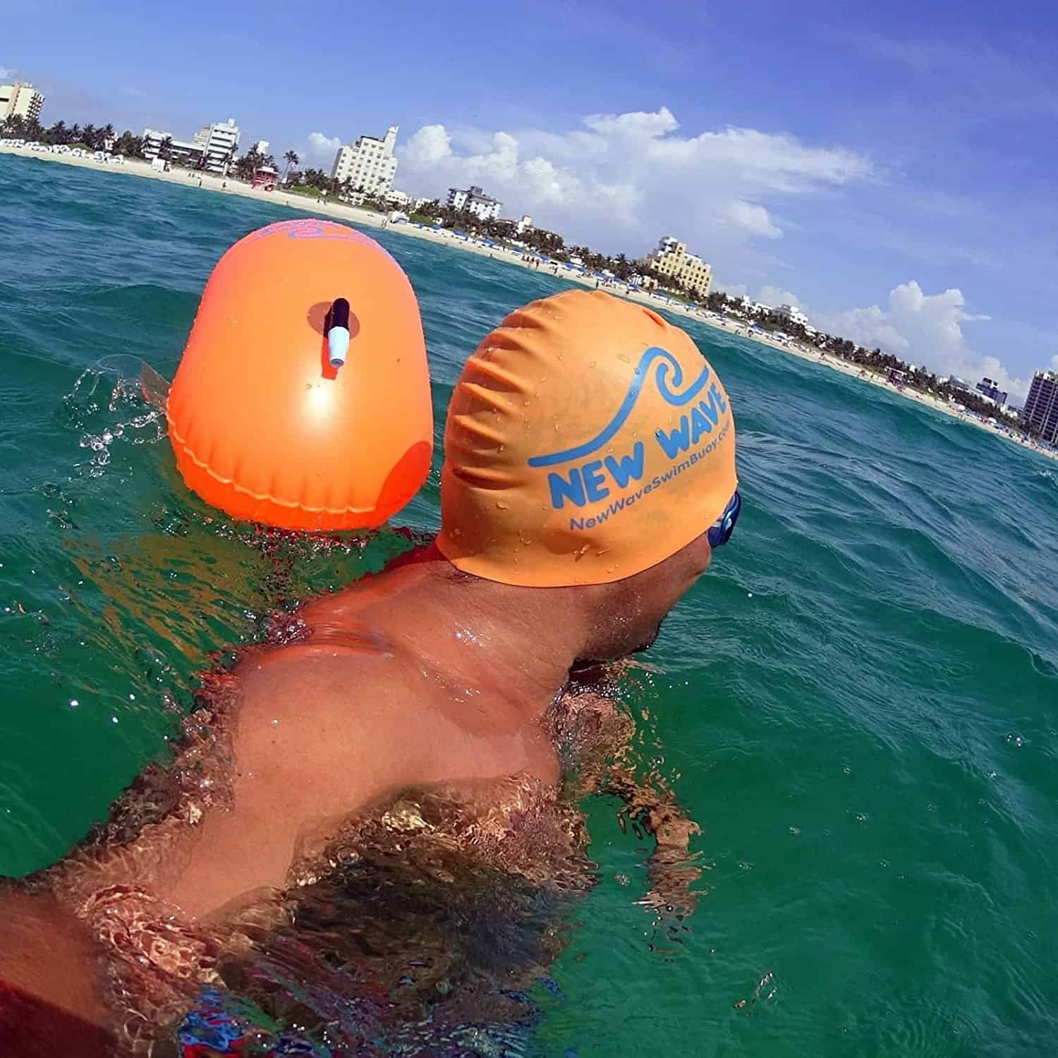 New Wave Swim Bubble for Open Water Swimming and Snorkeling