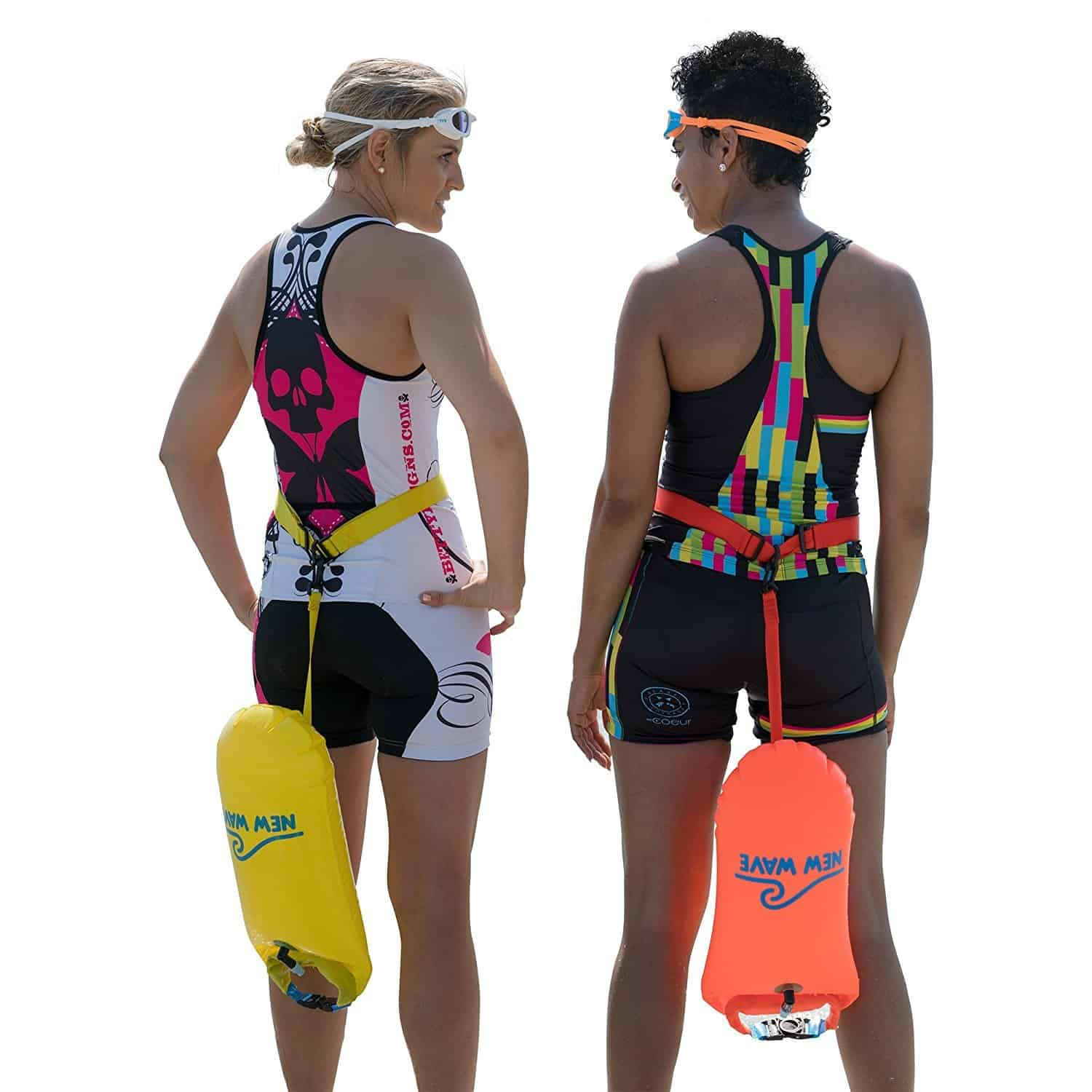 New Wave Swim Buoy for Open Water Swimming and Snorkeling