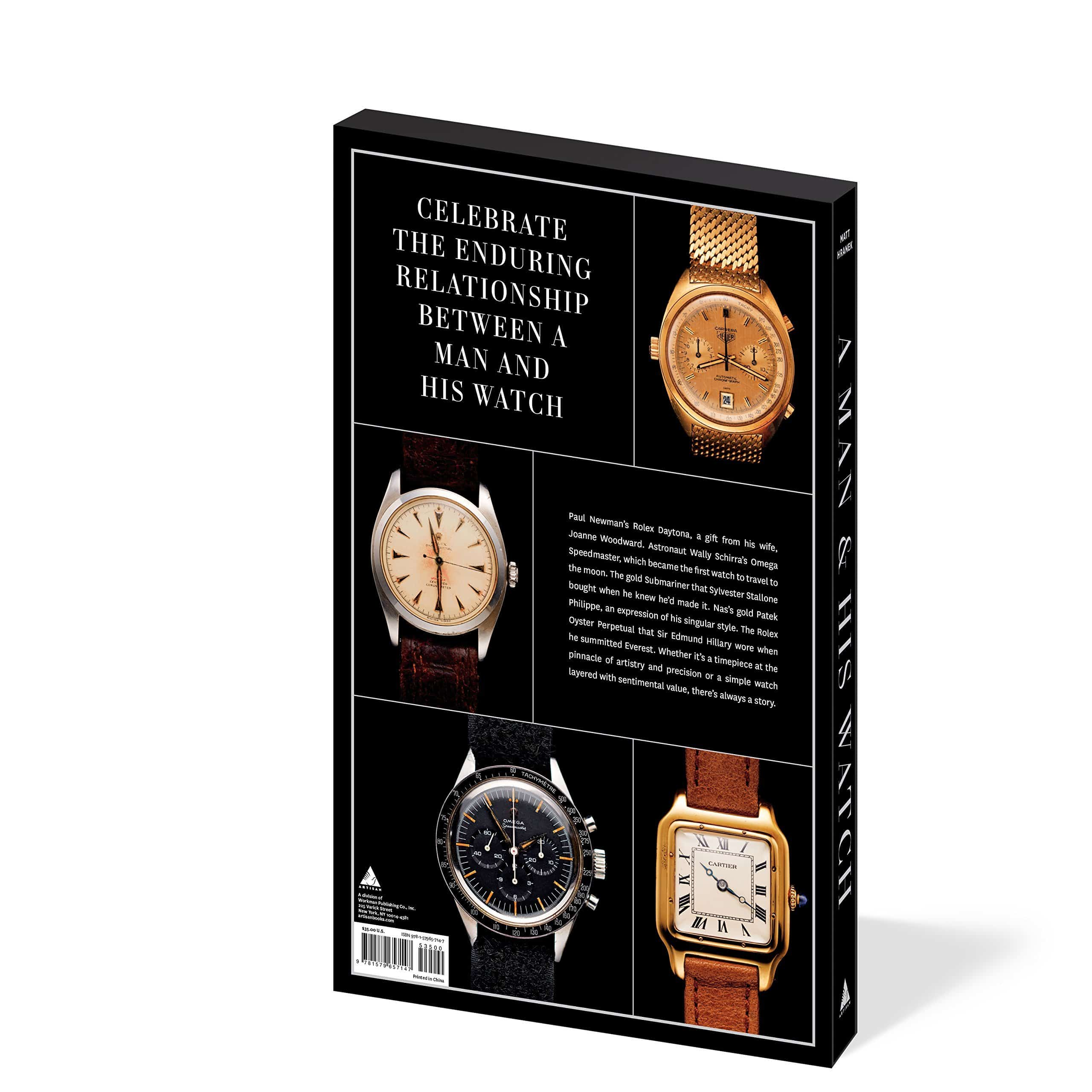 A Man and His Watch Back Cover Book