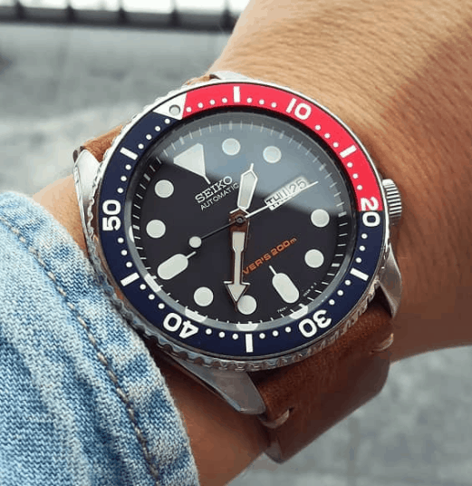 2019 Classic Seiko Skx009 Automatic Divers Watch With A