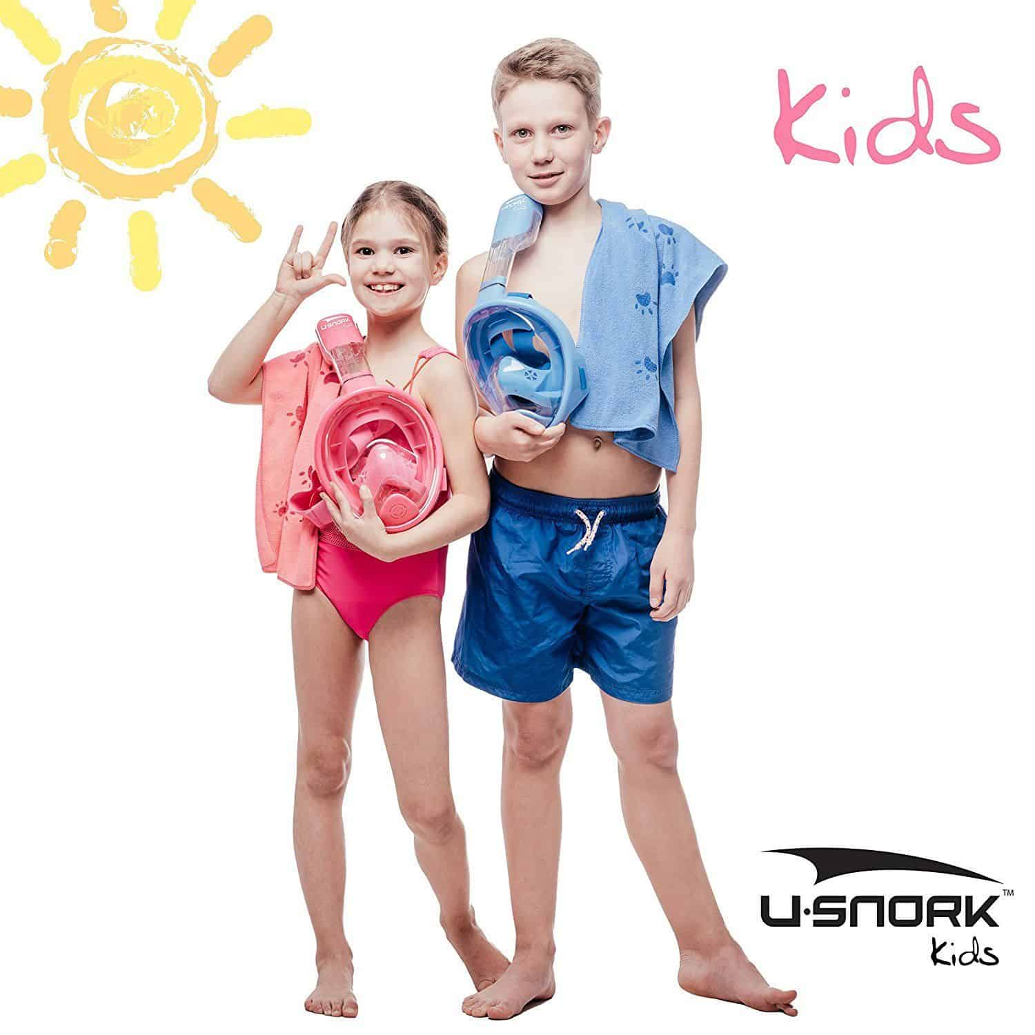 Usnork Childrens Full Face Masks