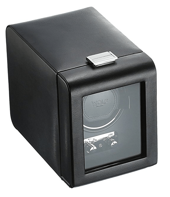 WOLF 270002 Heritage Single Watch Winder with Cover