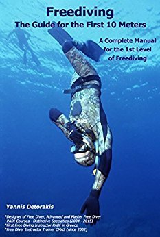 Yannis Detorakis - Free diving the first 10 meters