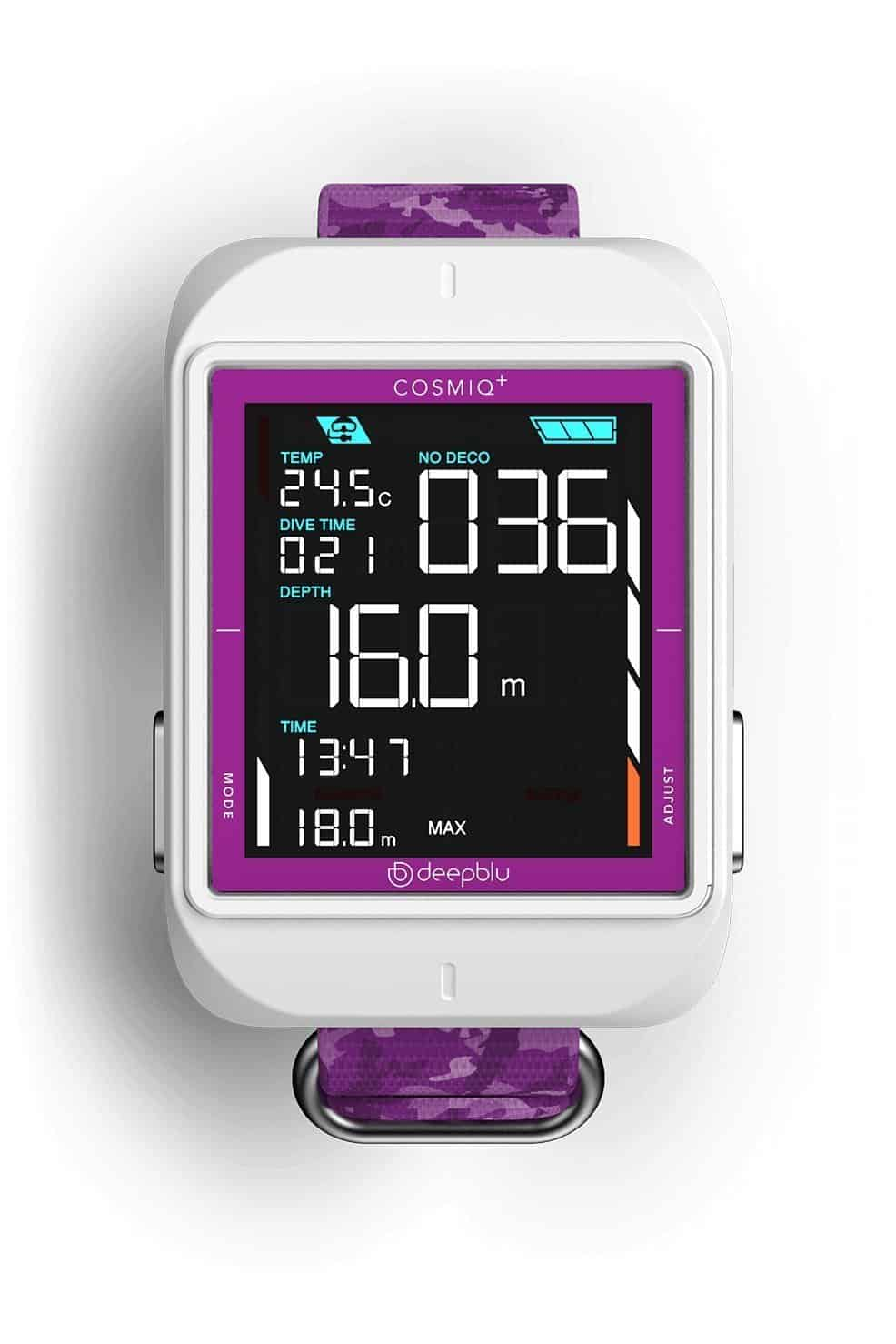 Cosmiq Dive Computer Lilac Purple and White