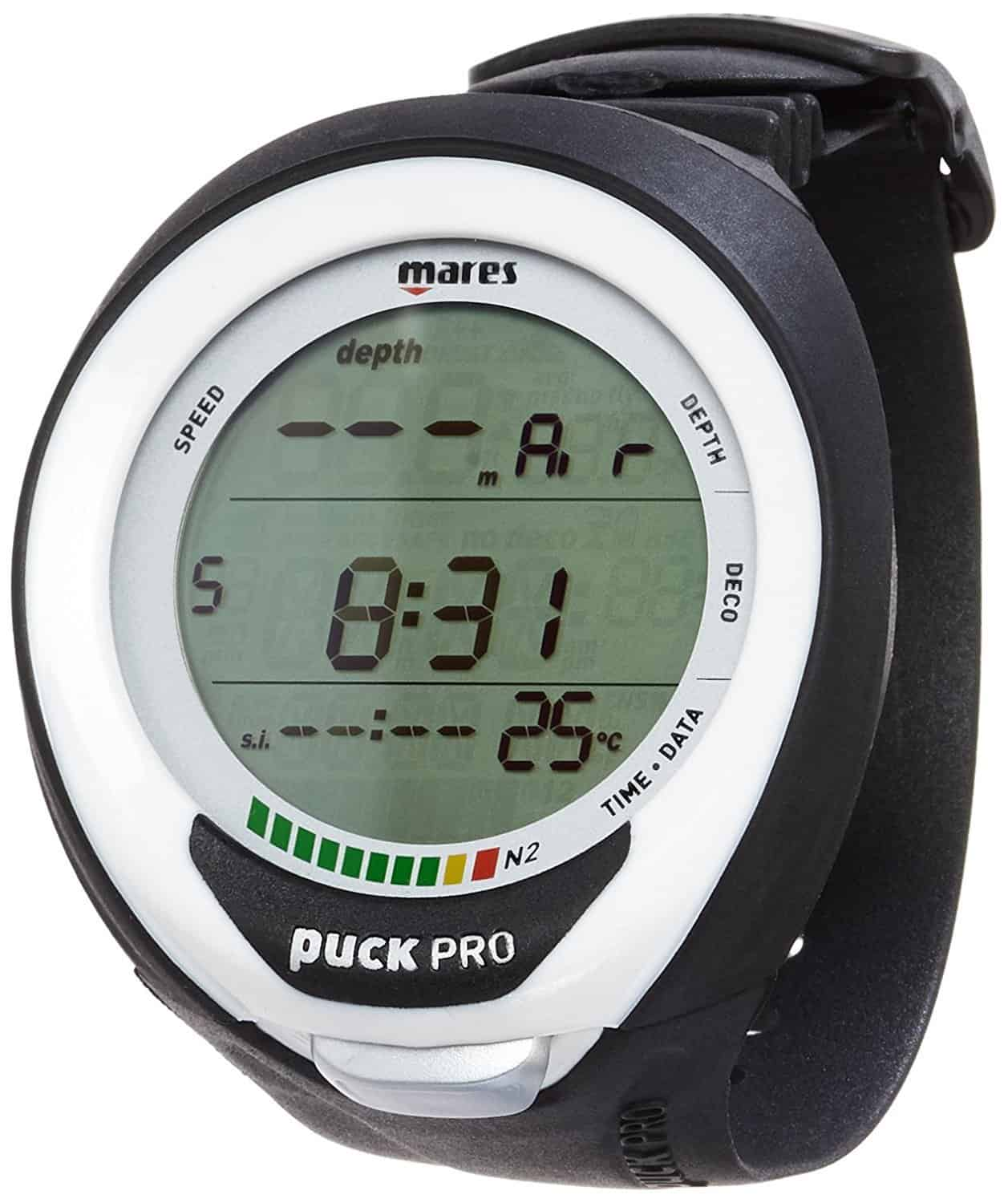 Mares Puck Pro Plus Black-White Dive computer