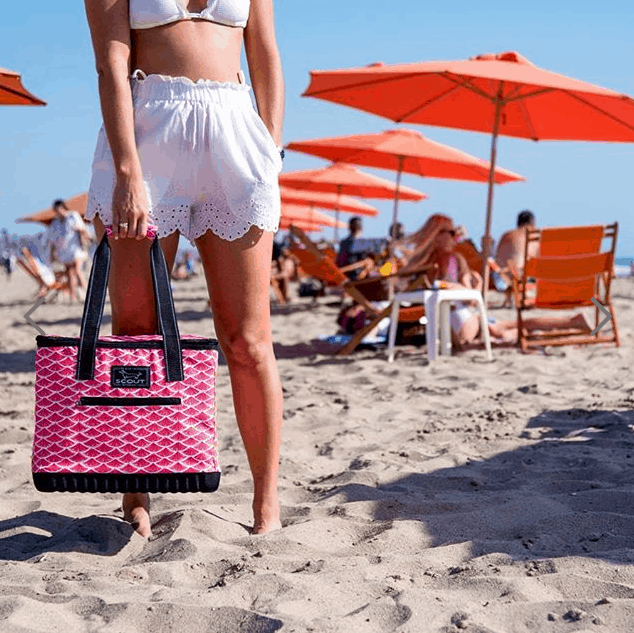 Scout Cooler Bags - The Stiff One is great for picnics at the beach