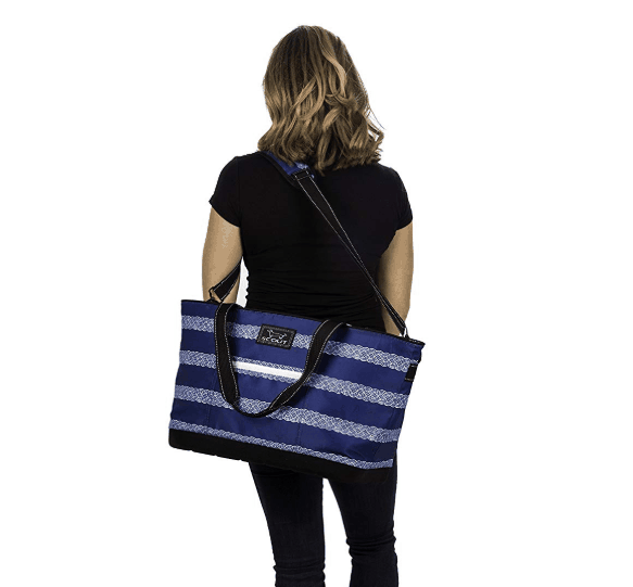 The Icebreaker Cooler Over the Shoulder Strap and Handles