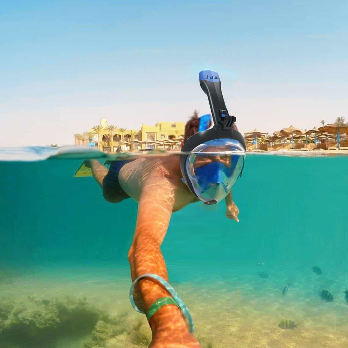Seabeast Anti Fog Full Face Snorkel Mask