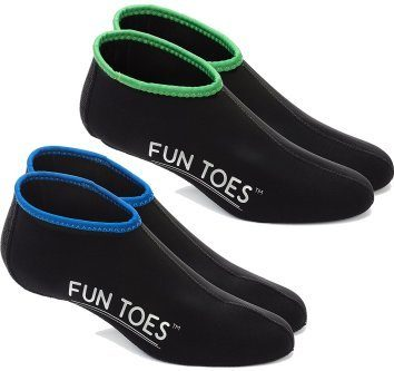 Fun Toes 2.5mm Neoprene bootie socks for snorkeling