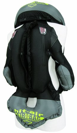 Hit-Air Inflatable Vest MLV-C inflated view back