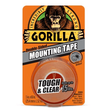 Gorilla Tape Tough and Clear Mounting Tape