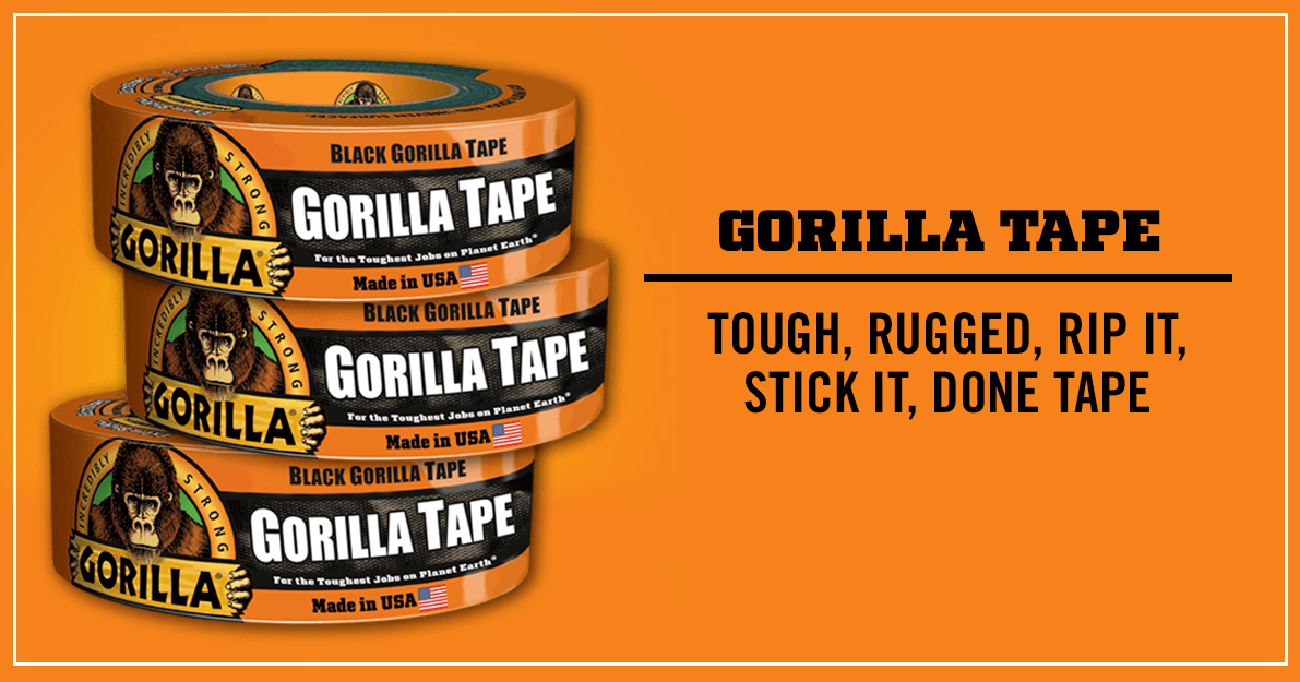 Best Duct Tape - Gorilla Tape