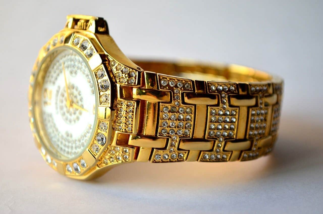 How to care for a luxury watch with jewels