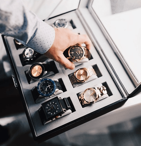 Multiple Watch Storage Box