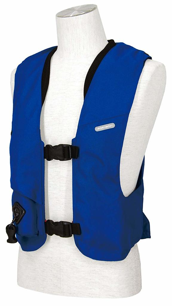 Hit-Air inflatable airbag vest Equestrian Model SV2 Blue