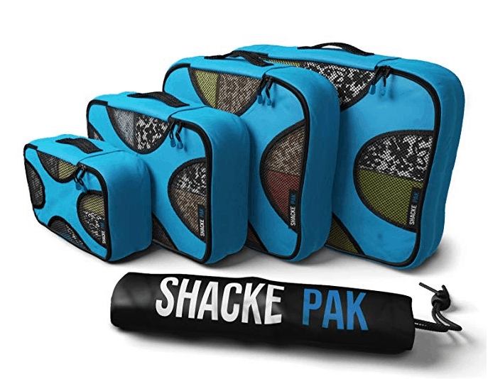 Shacke Pak set of 4 packing cubes
