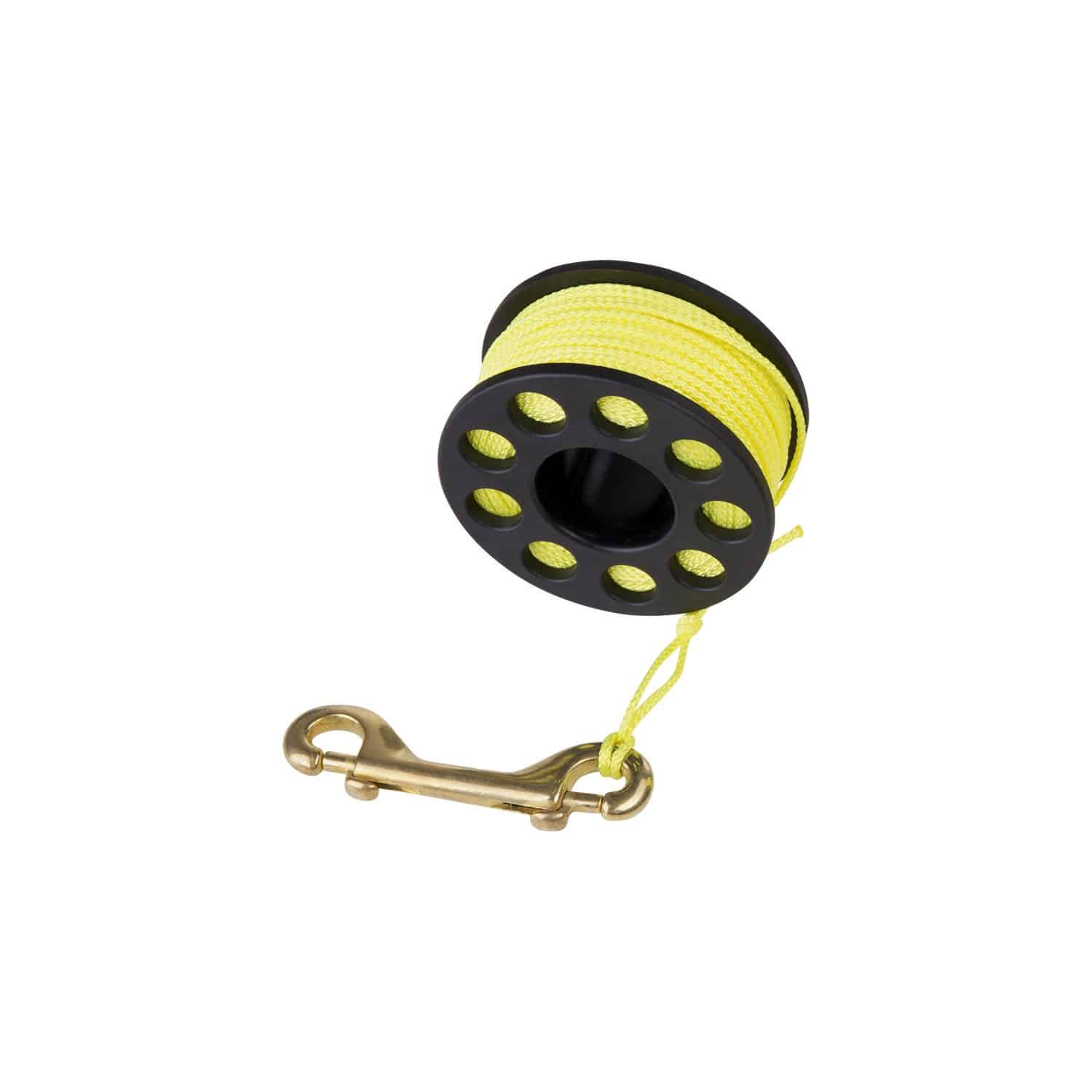 Scuba Diver Finger Reel with Brass Clip