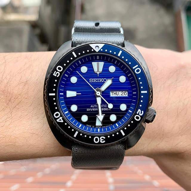 Seiko Prospex SRPD11 Turtle Special Edition with NATO band