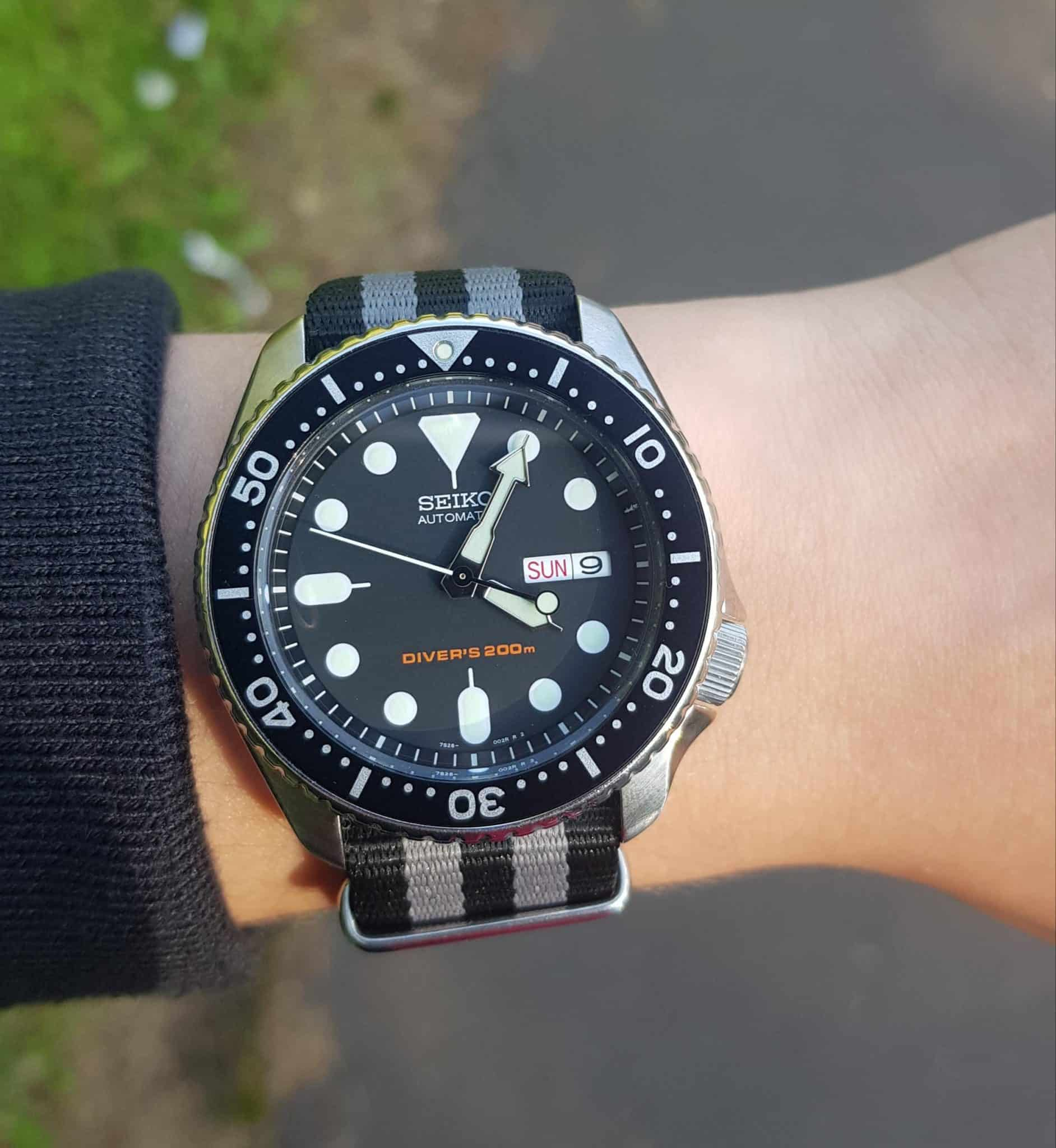 Seiko SKX007 with NATO Band