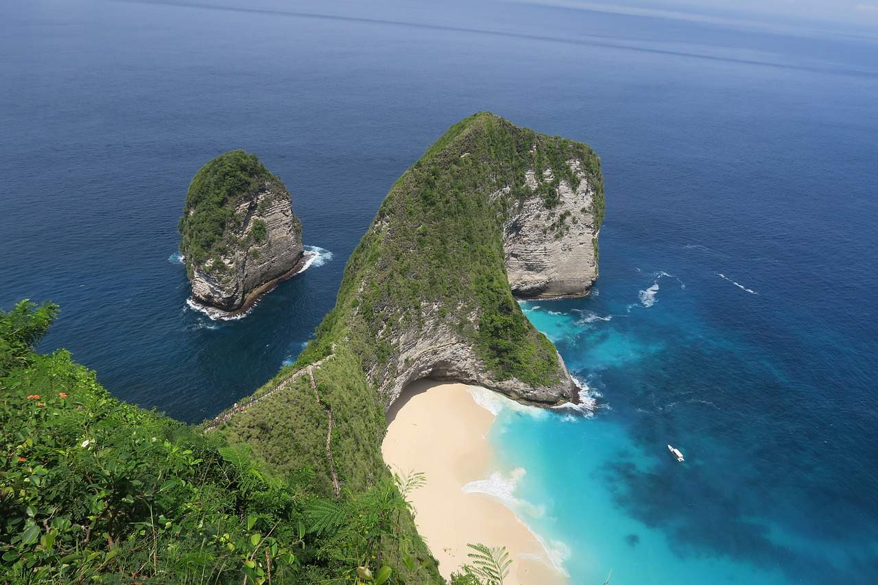 Nusa Penida is an island southeast of Indonesia's island Bali