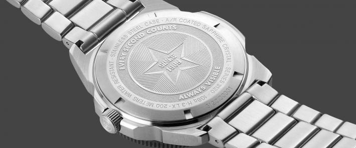 Back of Luminox Watch Case