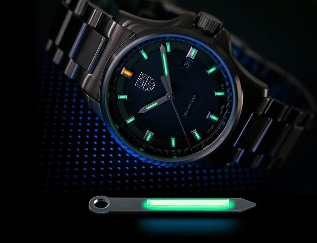 Luminox Watch Lume