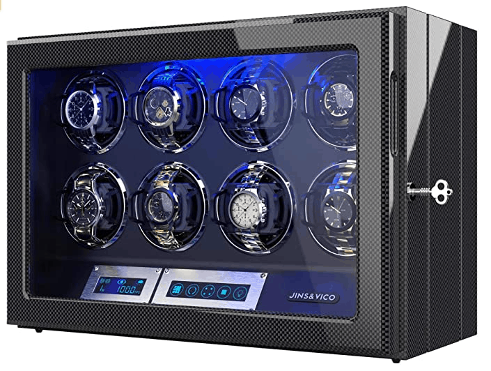 Jins&Vico Watch Winder for 8 watches