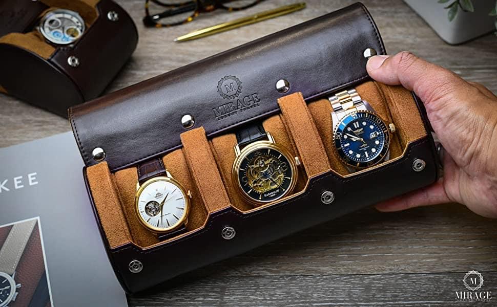 Mirage Watch Travel Case Roll